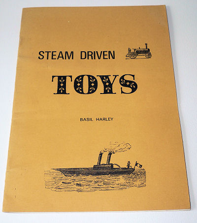 Steam driven toys.