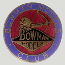 Bowman enamel badge.