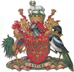 Chesterfield coat of arms.