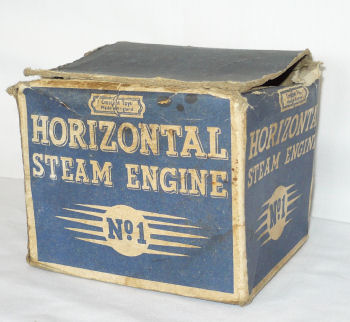 Crescent steam engine Box.