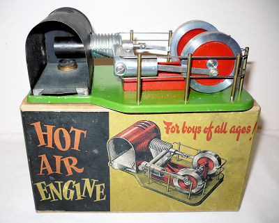 Davies Charlton Hot Air Engine / Stirling Engine.