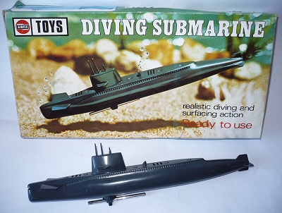 AirFix Diving Submarine.