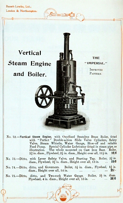 Bassett Lowke Engine.