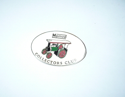 Mamod collectors club badge,
