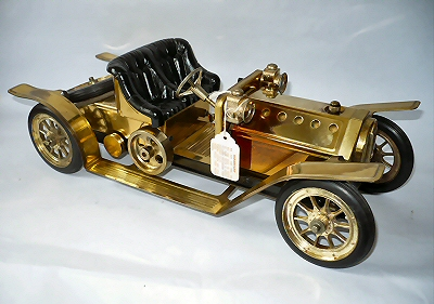 Mamod Brass Roadster.