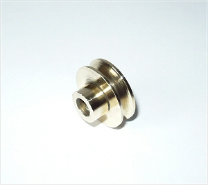 Mamod Brass pully wheel.