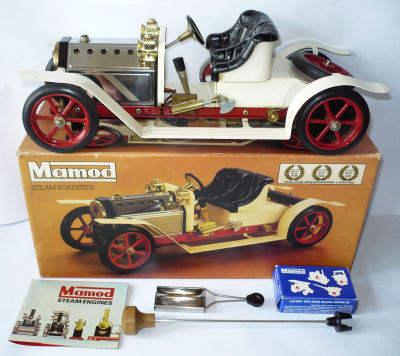 Mamod steam car.