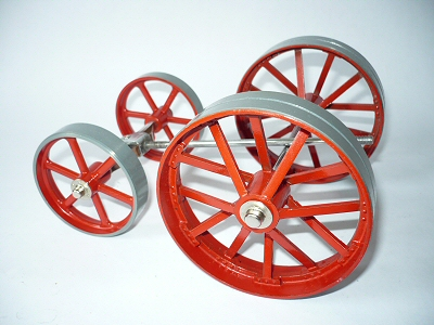 Mamod Traction Engine Wheels.
