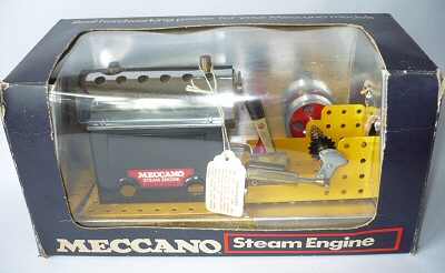Meccano steam engine.