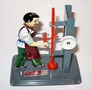 Wilesco press operator.