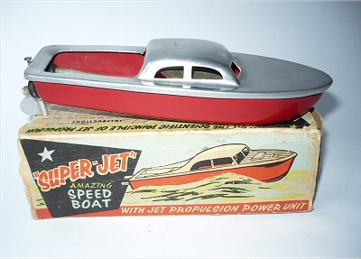 Super Jet Speed Boat.