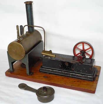 Garette steam engine.