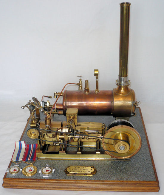 Model Steam Engine.
