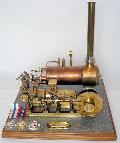 My old pa's steam engine.