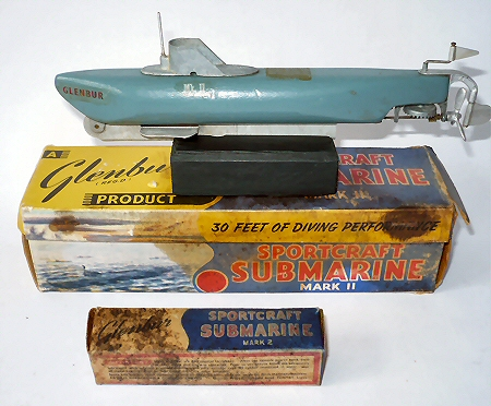 Glenbur Submarine and Box.