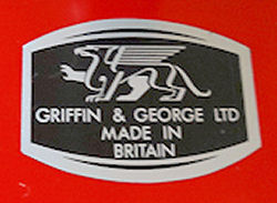Griffin & George Decal.