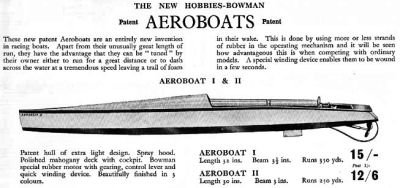 Hobbies Aeroboat II.
