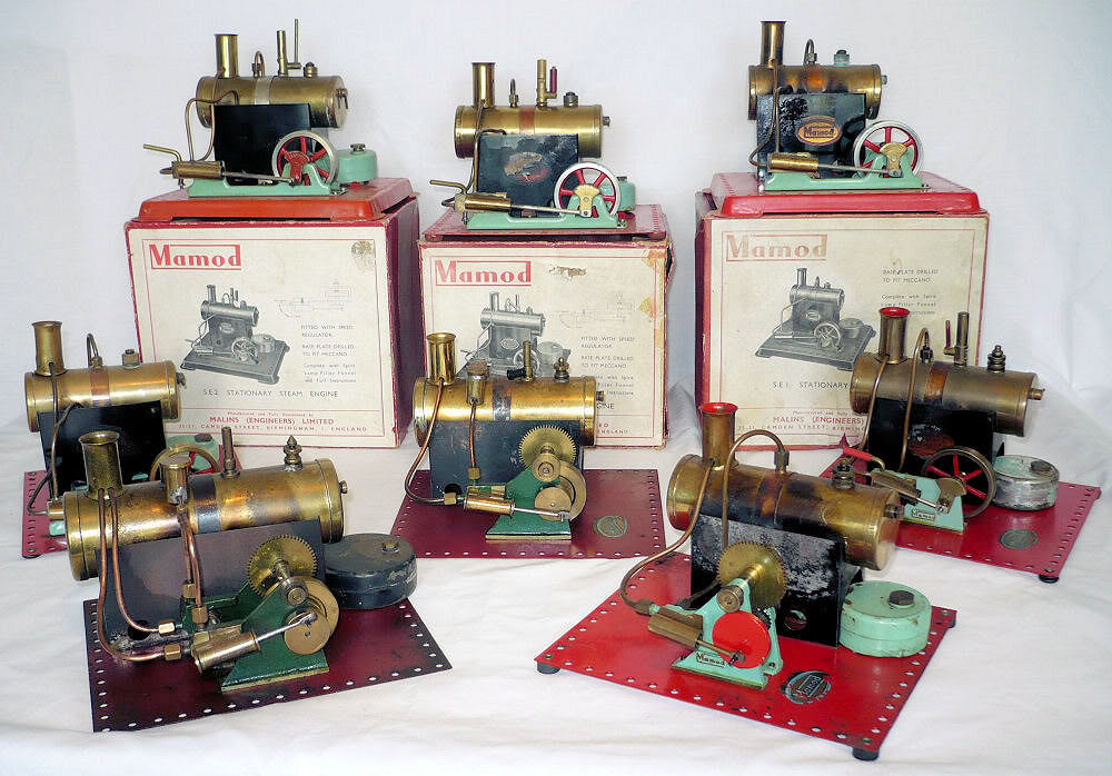 Mamod Steam Engines.