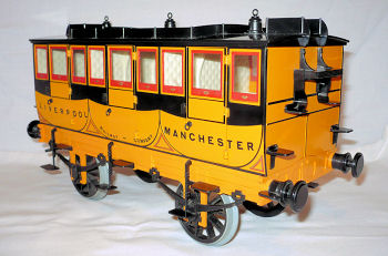 Hornby Stephensons Rocket Coach.