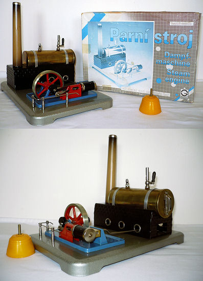 Gama steam engine.