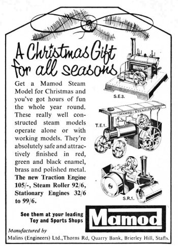 Christmas gift advert 1964.