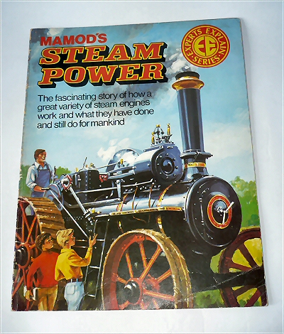 Mamod's Steam Power Book.