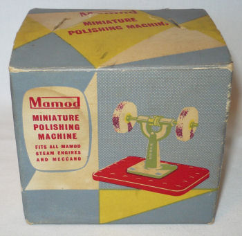 Mamod polishing machine box Circa 1970's.