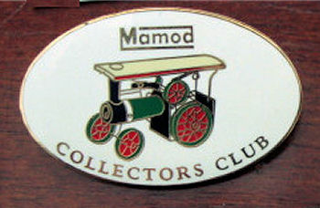 Mamod collectors club badge.