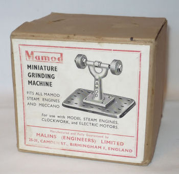 Mamod grinding machine box Circa 1950's.