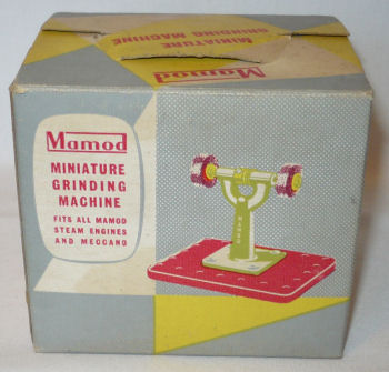Mamod grinding machine box Circa 1970's.