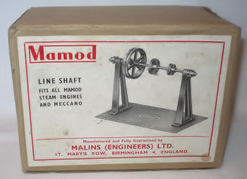 Mamod line shaft box Circa 1950's.