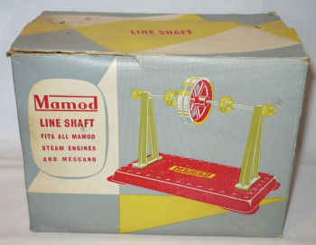 Mamod line shaft box Circa 1970's.