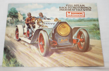 Mamod Roadster Booklet.