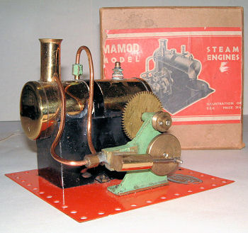 Mamod S.E.2 toy steam engine circa 1937