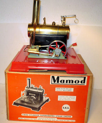 Mamod SE3 Steam Engine Circa 1972.