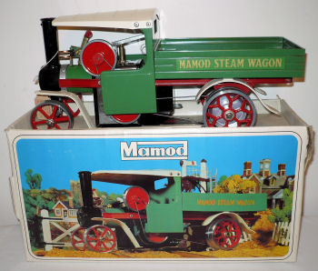Mamod steam wagon Circa 1972.