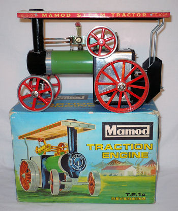 Mamod traction engine TE1a Reversing madel.