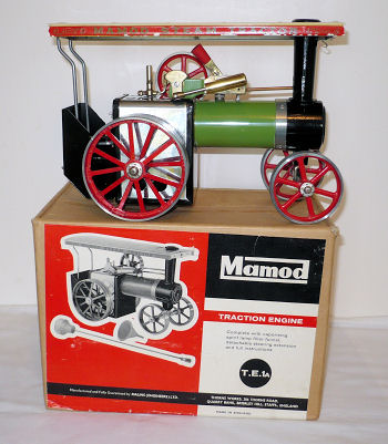 Mamod Traction Engine Boxed.