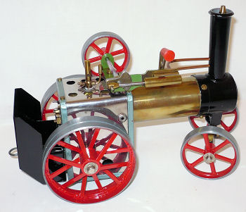 Mamod TE1a traction engine.