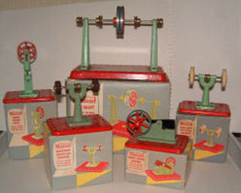 Mamod toy steam engine tools Circa 1970's.