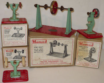 Mamod toy steam engine tools Circa 1950's.