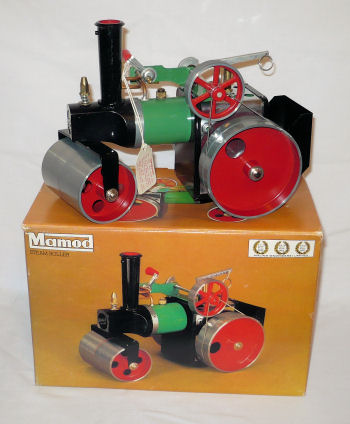 Mamod steam roller brown box version Circa 1976.
