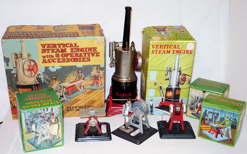 Marx vertical Steam engine.