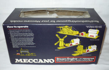 Meccano horizontal Steam engine.