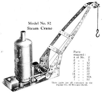 Meccano steam engine 1929.