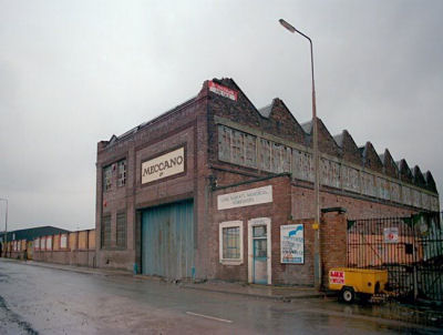 Meccano factory at Binns road.