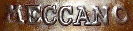 Meccano 1929 steam engine logo.