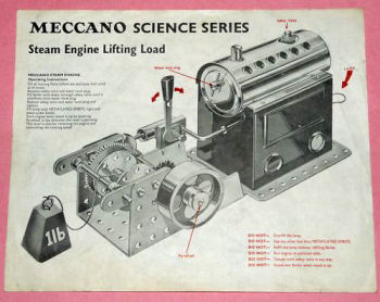 Meccano science series leaflet Circa 1966.