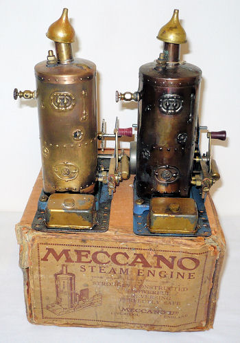 Meccano steam engines 1929.