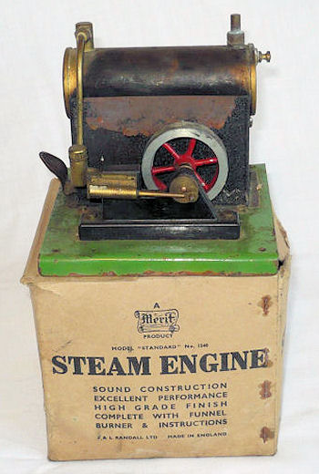 Merit 1540 steam engine.